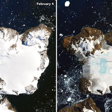 Antártida, NASA, Foto, Deshielo