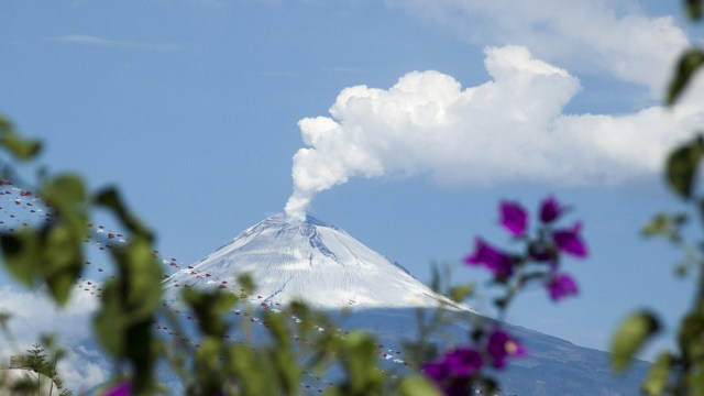 Glaciares, Popocatépetl, México, Cambio Climático
