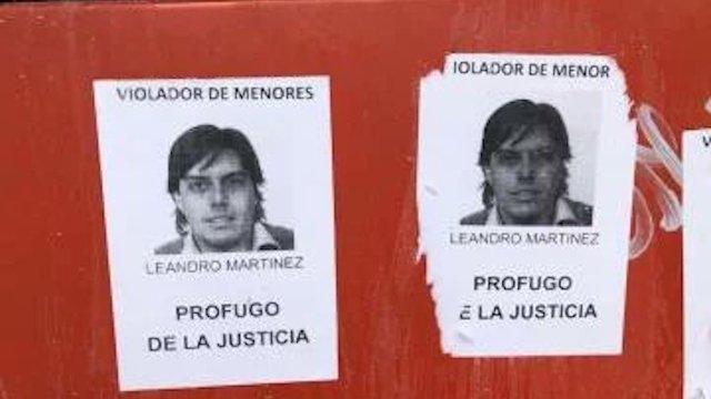 Leandro Martínez presunto abusador está libre (Imagen: Infobae)