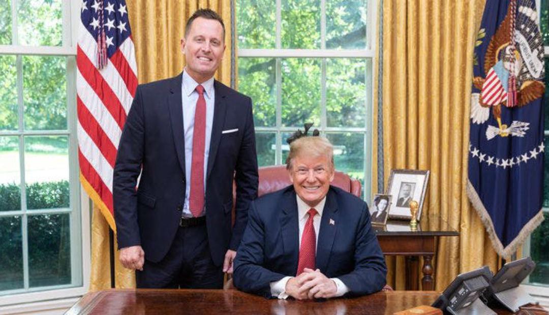 Richard Grenell, el primer gay en ocupar un puesto en el gabinete de Trump
