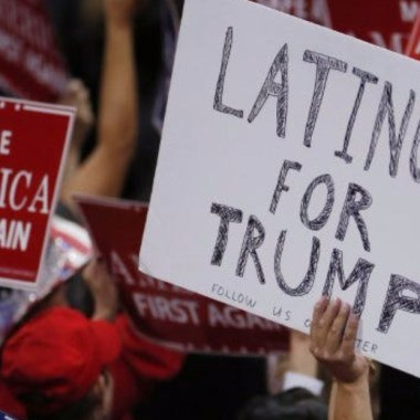 30% de latinos apoyan a Trump