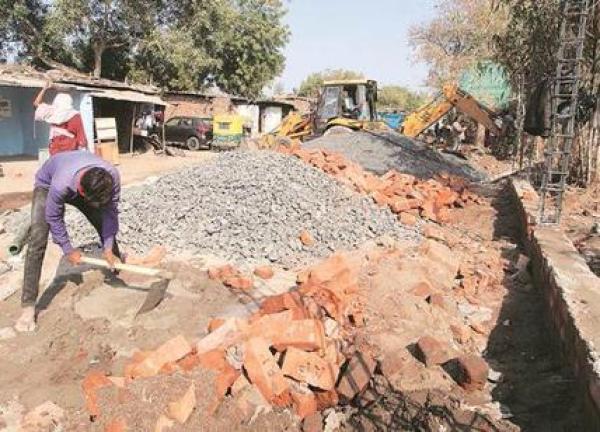 India construirá muro para recibir a Donald Trump