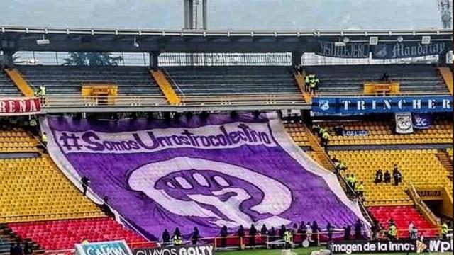 Feministas, La Poderosa, Colombia, Fútbol
