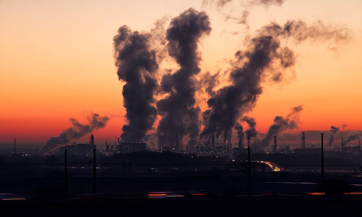 Pandemia, Contaminación, Aire, Advertencia