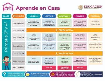 Aprende En Casa, SEP, Reinicio, Clases