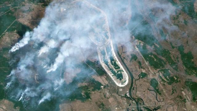 Chernobyl, Incendio, Radiación, Ucrania