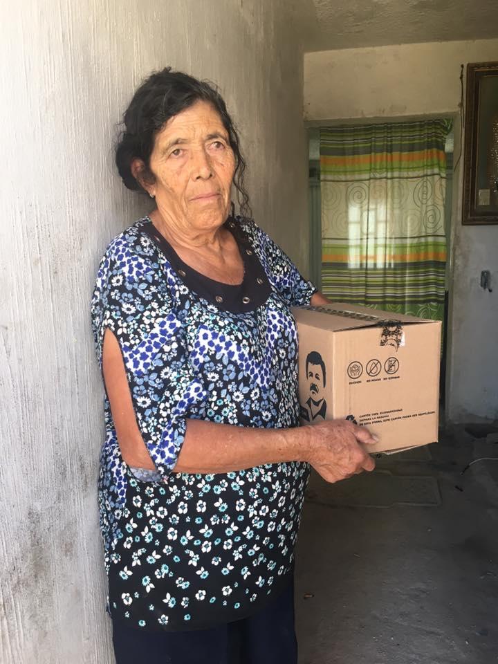 Coronavirus, Chapo, Despensas, Familias