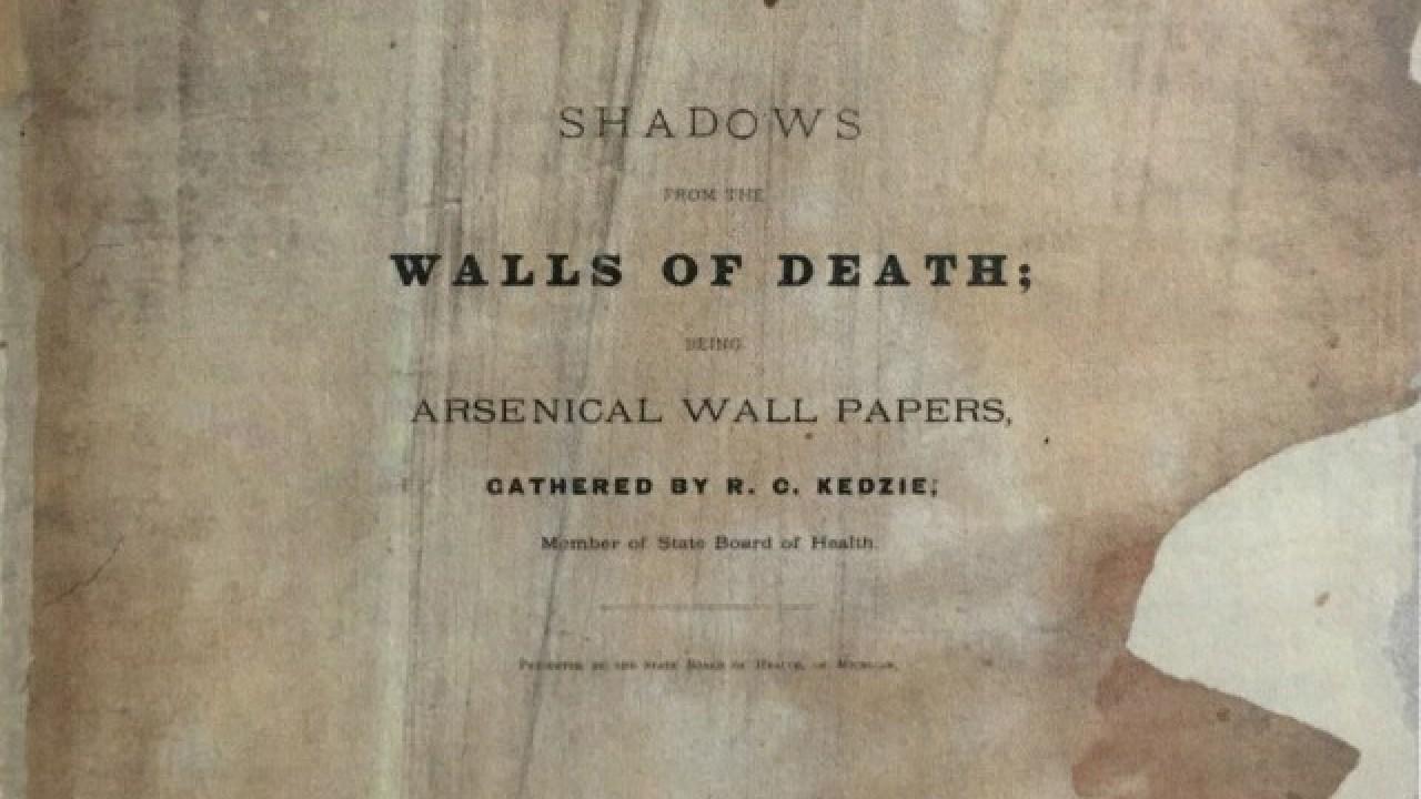 Libro, Shadows From The Walls of Death, Arsénico, Veneno