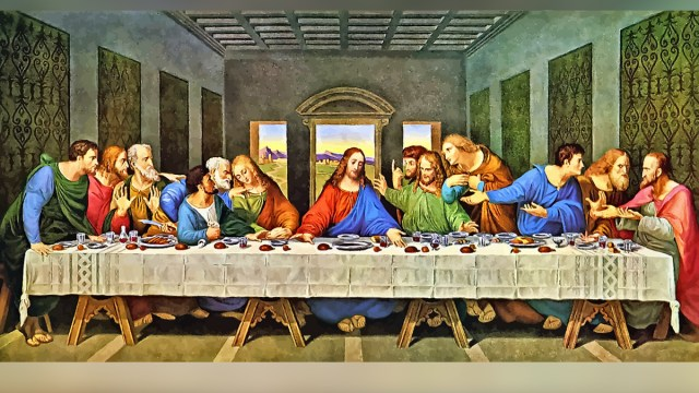 Ultima Cena, Jueves Santo, Cuadro, Da Vinci