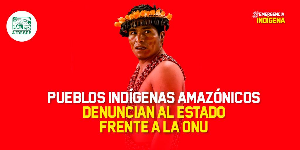 Pueblos indígenas denuncian a Perú por 'peligro de etnocidio' ante coronavirus