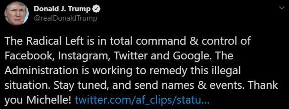 Donald Trump, Estados Unidos, Facebook, Twitter