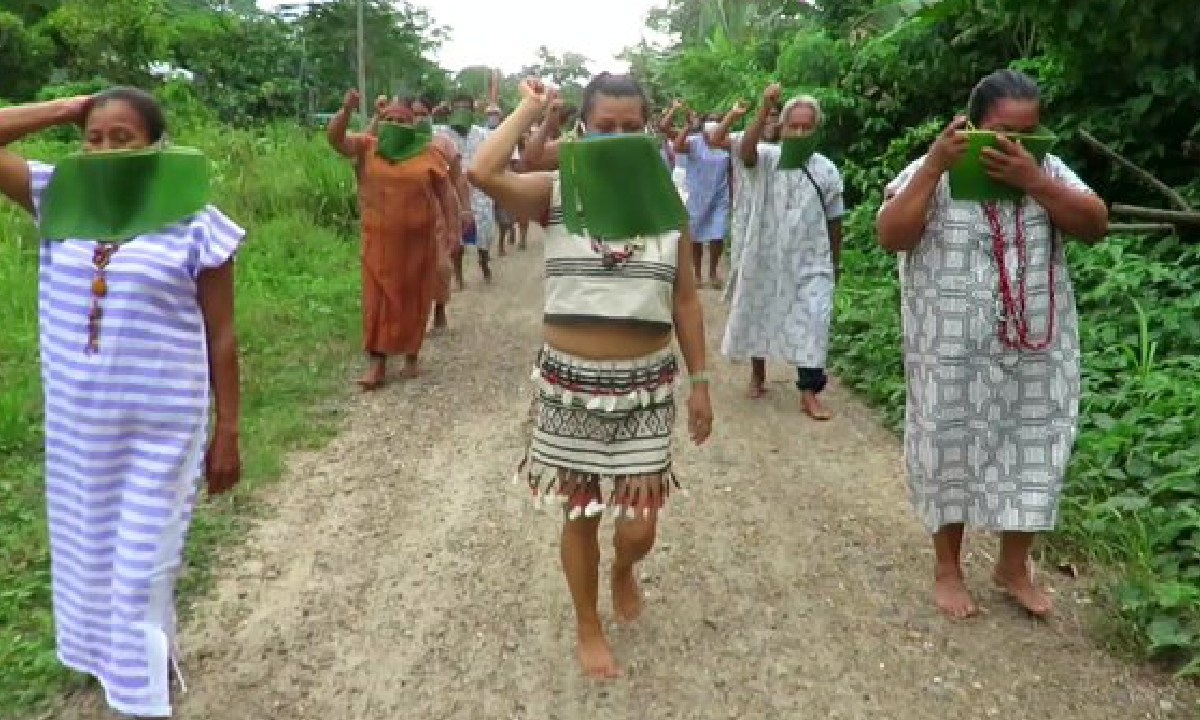 Personas Indigenas,Coronavirus, Proteccion, Artistas