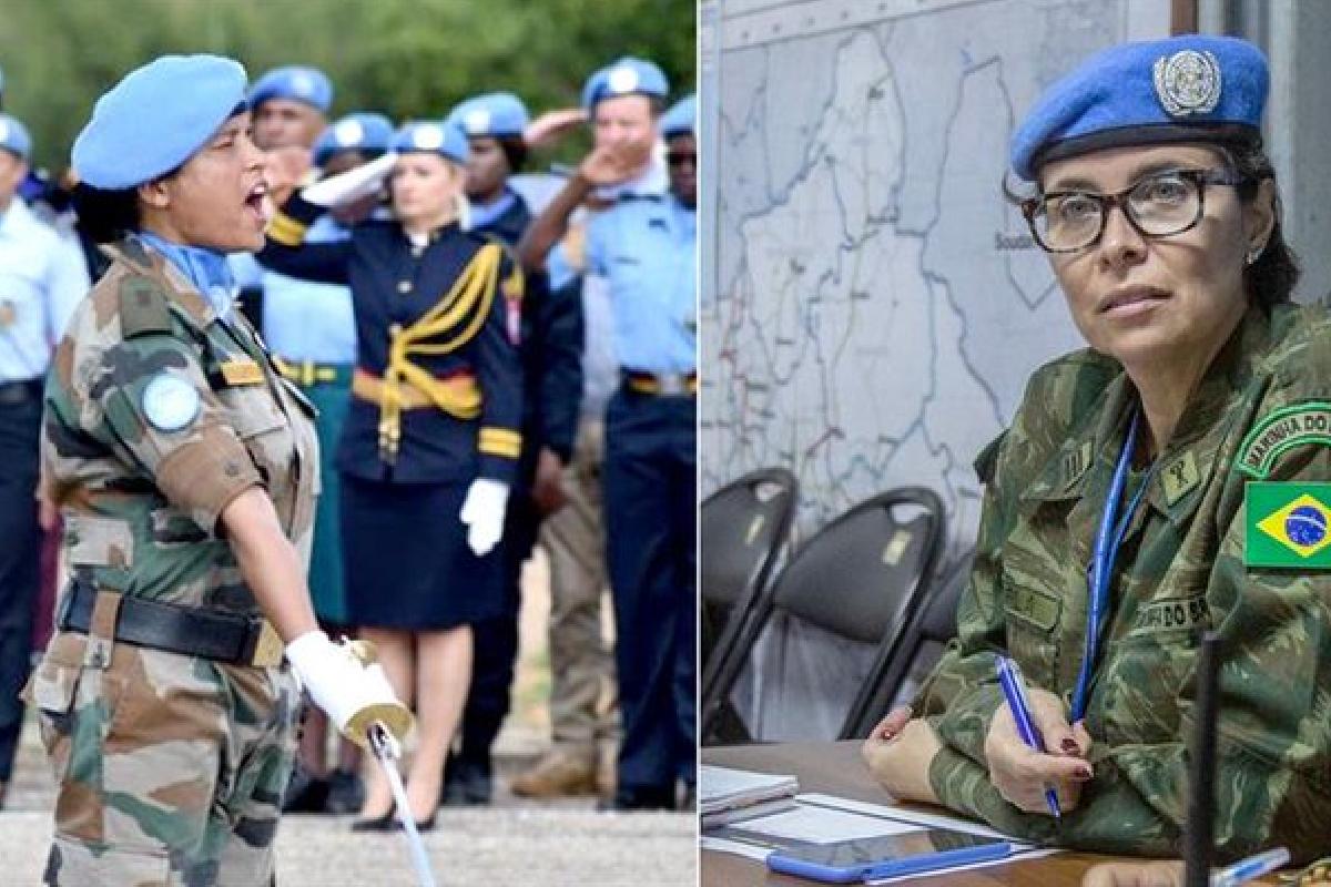 Mujeres, Cascos Azules, ONU, Defensoras Militares