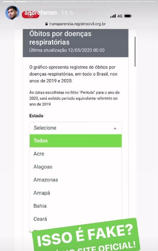 Bloquean publicación de Bolsonaro en Instagram por difundir noticias falsas