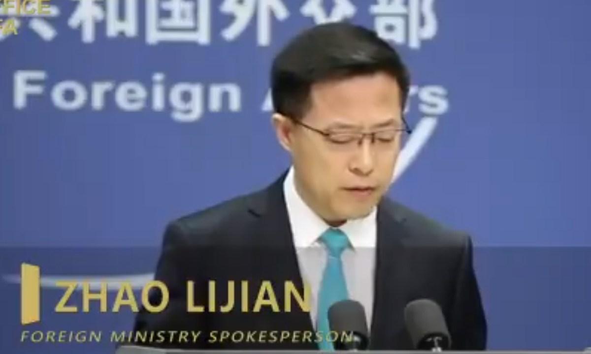 """China afirma que el racismo es una """"enfermedad crónica"""" de Estados Unidos"""