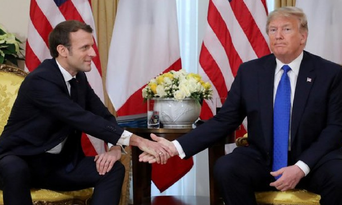 Donald Trump, Emmanuel Macron, Filtrar, Conversaciones