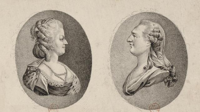 Maria Antonienta y Luis XVI, la reina intercambió cartas con su amante el Conde Fersen