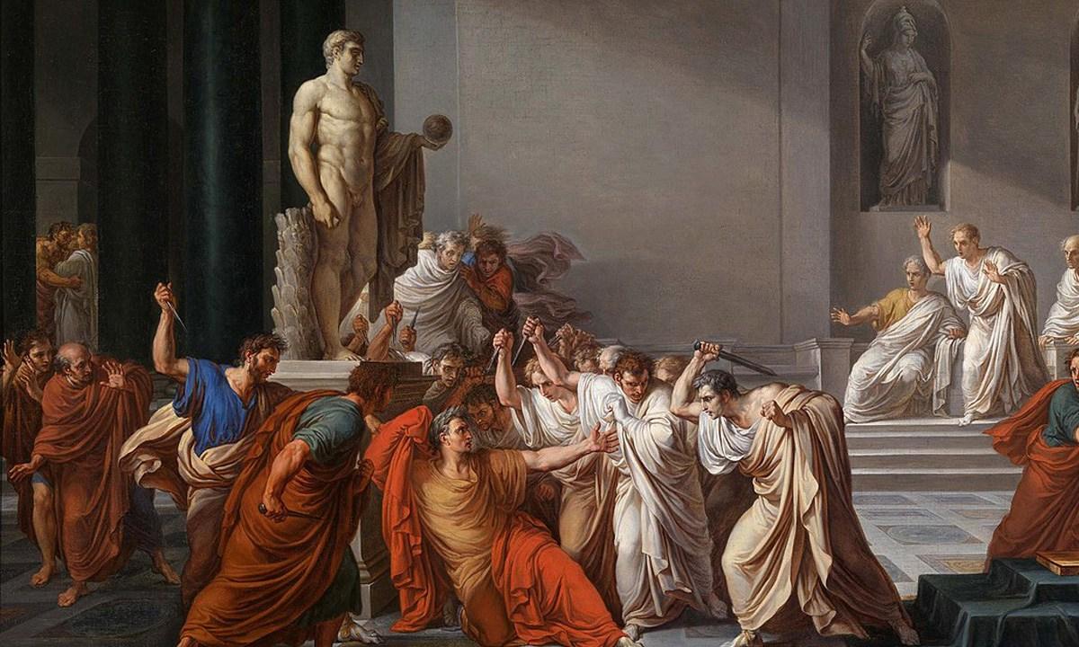 Uno de los principales conspiradores del asesinato de Julio César ha caído en el olvido