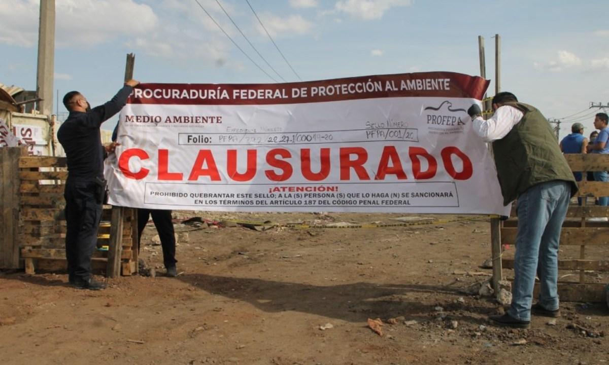 Clausuran tiradero clandestino Ecatepec