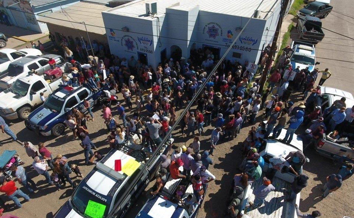 Familia LeBarón se enfrentó a la policía municipal de Galeana, Chihuahua