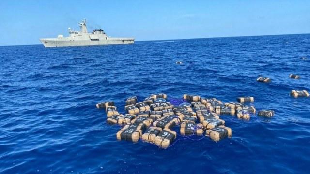 Naufragaron 2 toneladas de cocaína en Acapulco