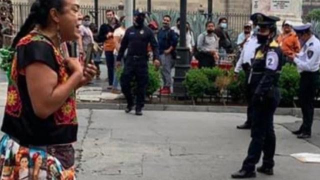 Remiten a policías capitalinos por participación decomiso Lady Tacos