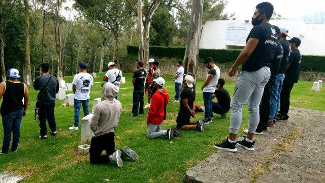 EDOMEX: así despidieron a 'La Jefa', del gimnasio Las Barras Praderas