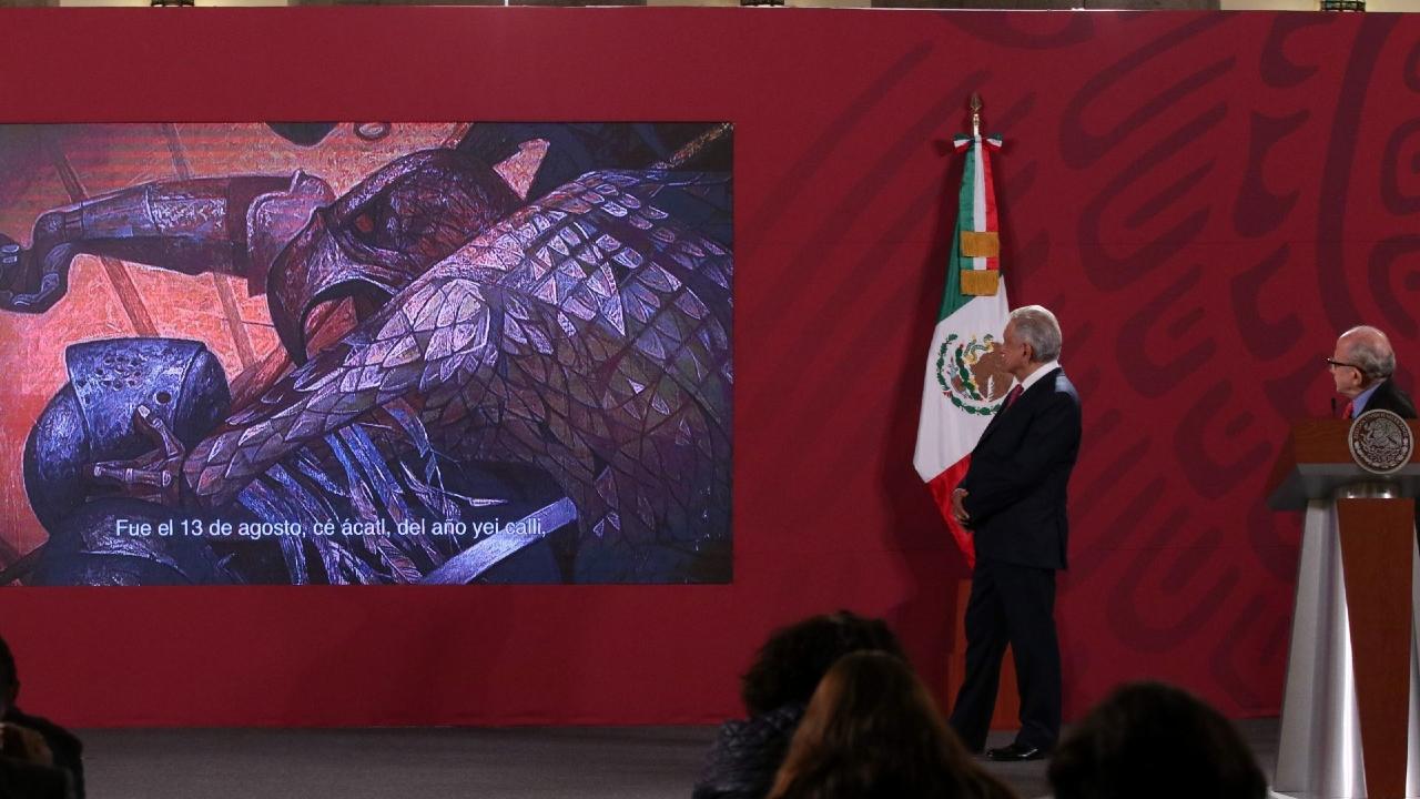 AMLO presenta plan festejar 200 años Independencia México