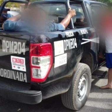 Policías yucatecos viajaron en patrulla a Campeche para embriagarse