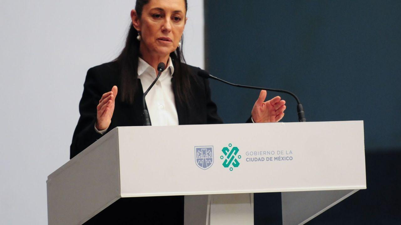 Sheinbaum: empresa de outsorcing financia okupa en CNDH