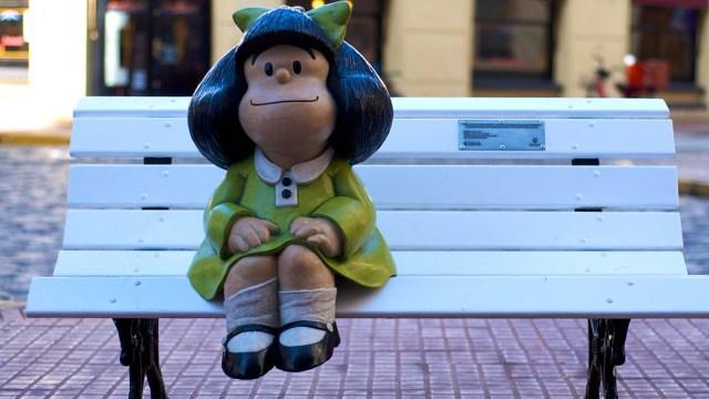 Joaquín Salvador Lavado, mejor conocido como Quino, usó el humor en el popular cómi, Mafalda, para hacer crítica política