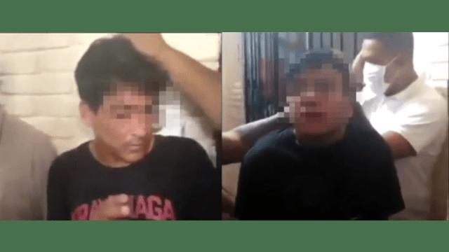 Reciben a golpes a reos de nuevo ingreso en CERESO de Tehuacán, Puebla,Captura De Pantalla