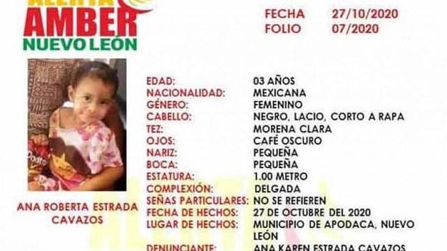Ana Roberta asesinada madre y padrastro Apodaca Nuevo León