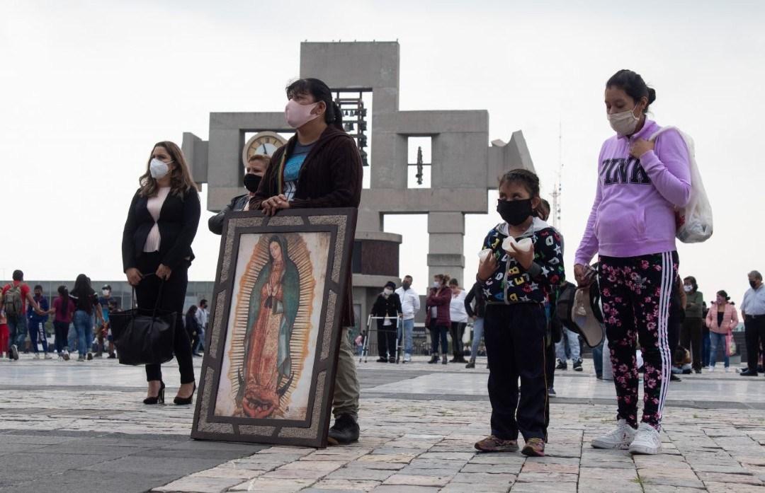 Basílica de Guadalupe COVID-19