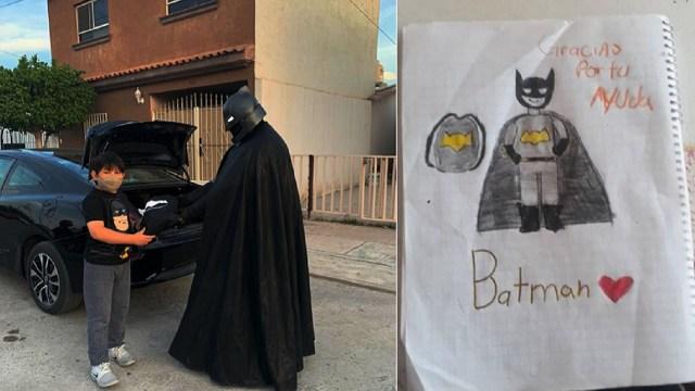 Dr. Batman protege a los niños del COVID 19 Comarca Lagunera