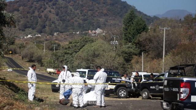 Hallan 12 personas muertas carretera San Luis Potosí