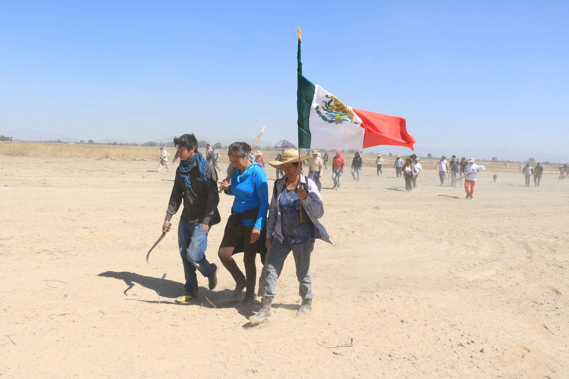 Lago de Texcoco exigen recuperar tierras Atenco
