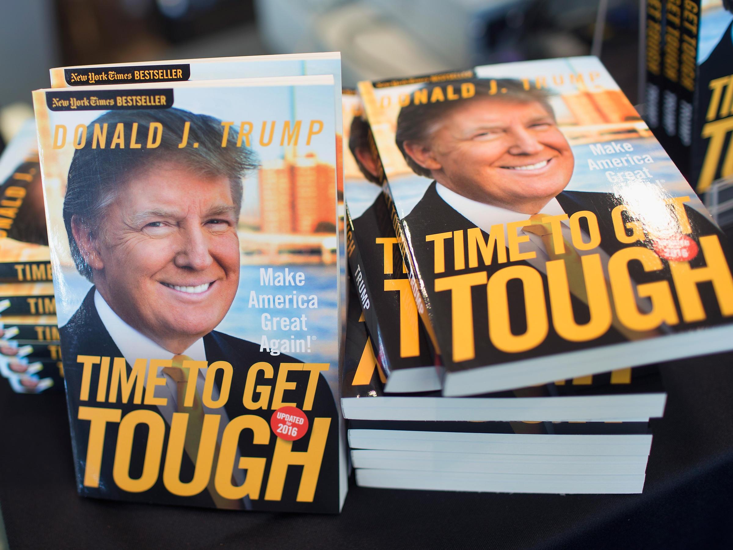 Make America Great Again libro Trump