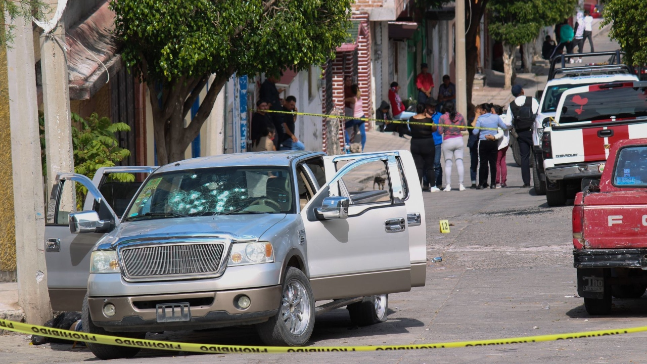 Matan cinco personas funeral Guanajuato