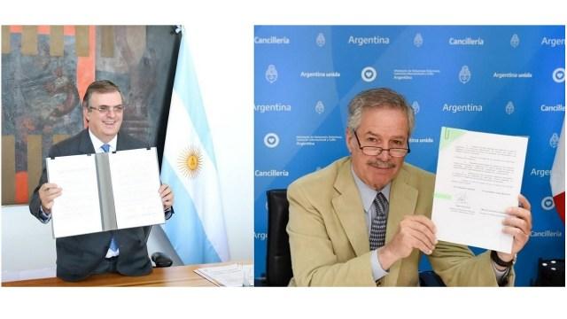 México Argentina firman acuerdo Agencia Espacial Latinoamericana y del Caribe