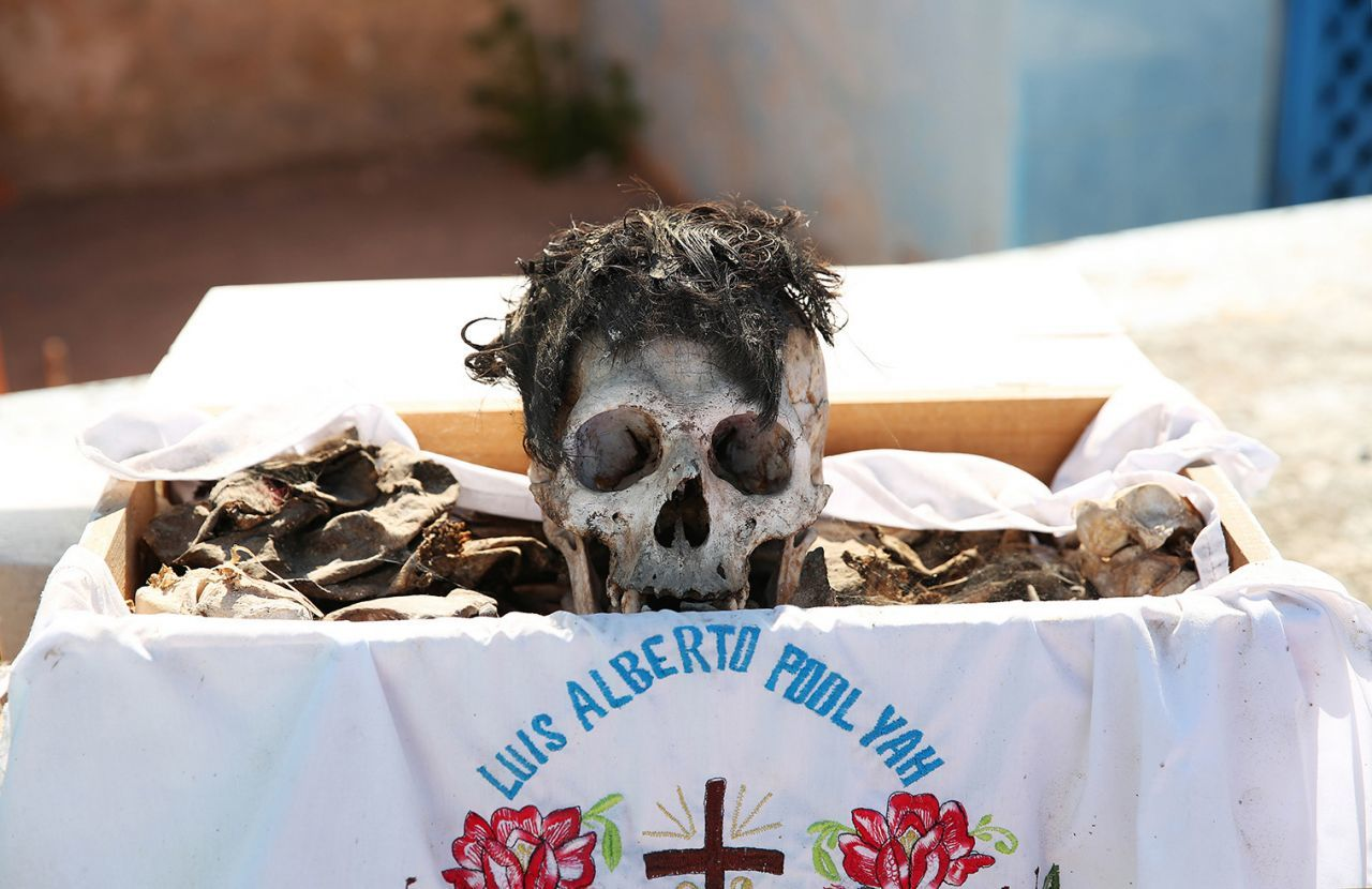 Pomuch Campeche Desentierro Muertos México