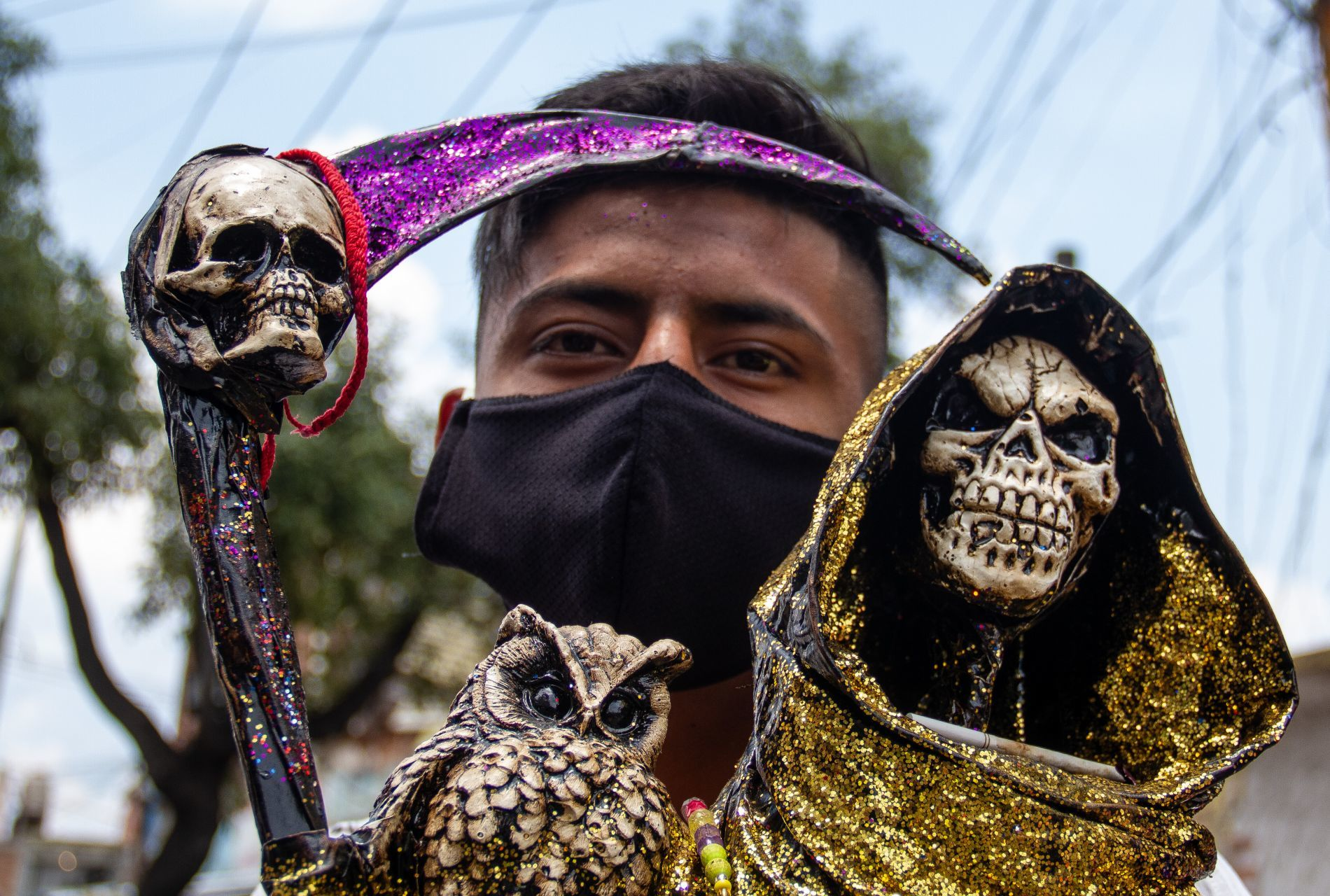 Santa Muerte COVID-19 pandemia fieles