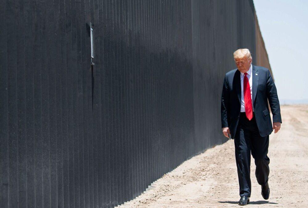Muro Trump México Frontera
