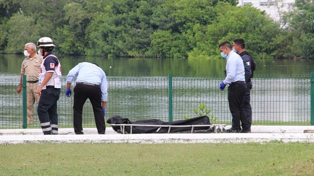 hombre muere ataque cocodrilo Laguna del Carpintero, Tamaulipas