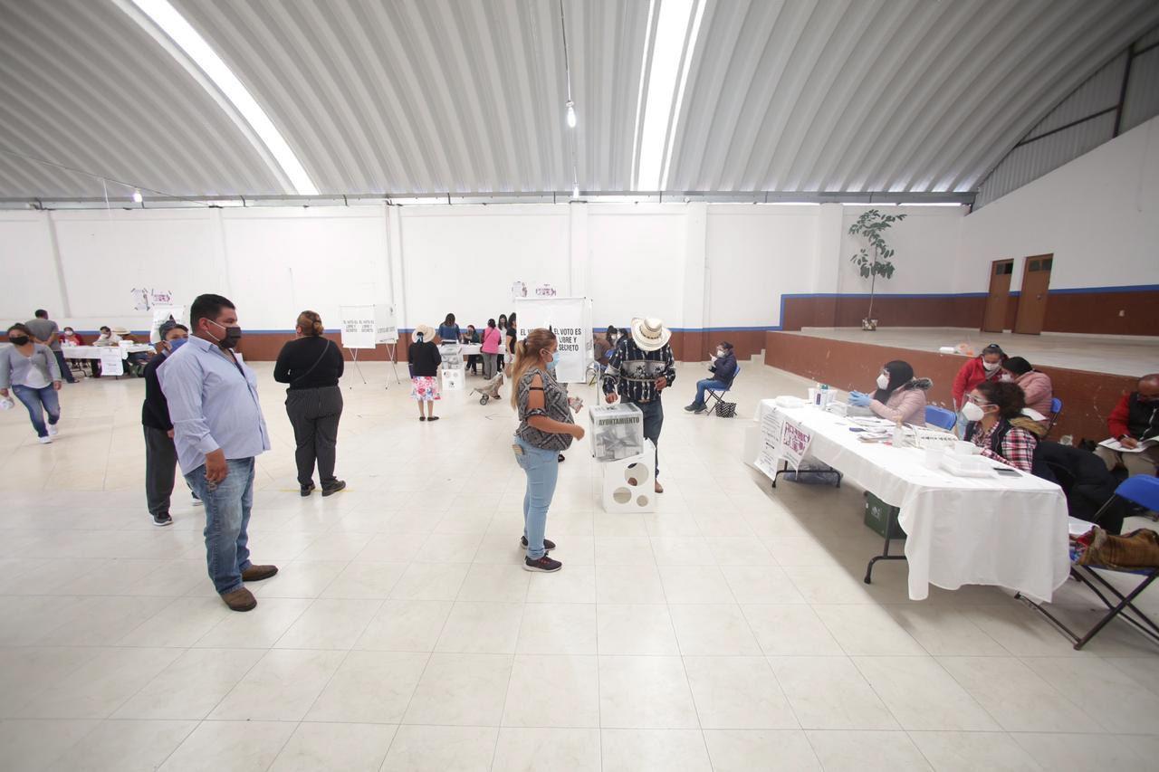 En Hidalgo se llevaron a cabo elecciones para renovar a presidentes municipales.
