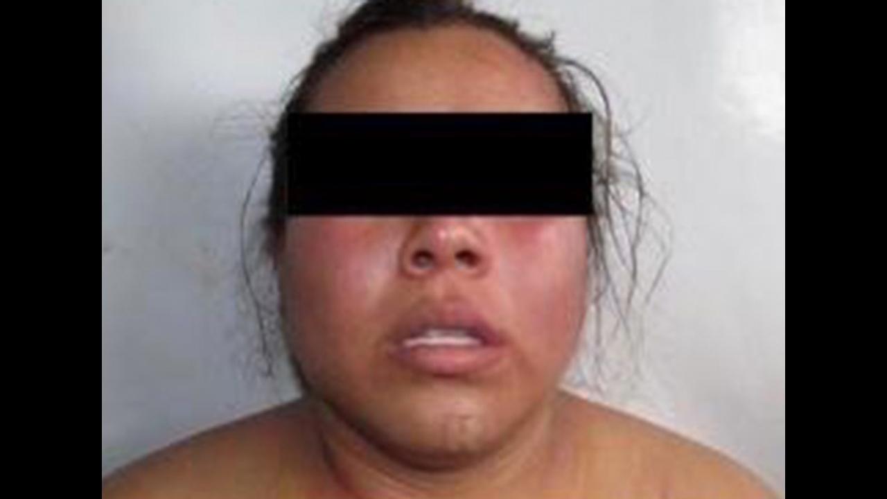 """Guadalupe """"N"""", mejor conocida como """"La Carnicera"""", una sicaria del Cartel Jalisco Nueva Generación fue detenida en Veracruz"""