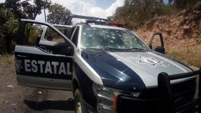 Emboscan y matan a 6 policías en Durango; habría más bajas de crimen