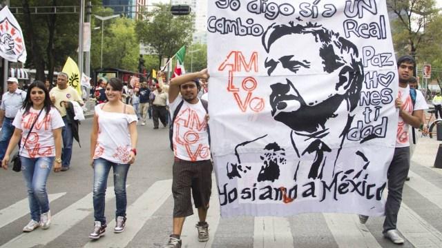 Simpatizantes de AMLO se preparan para marchar en la CDMX convocando a las personas a unirse con el hashtag La Marcha del Millón