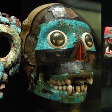 Además del penacho de Moctezuma hay otros tesoros mexicanos en el extranjero, como códices, máscaras y otras piezas arqueológicas