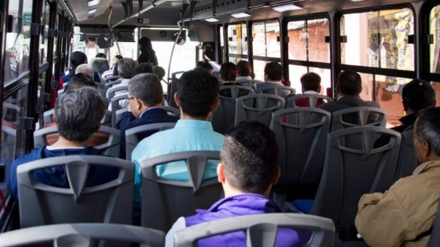 pasajeros someten y disparan asaltantes Estado de México